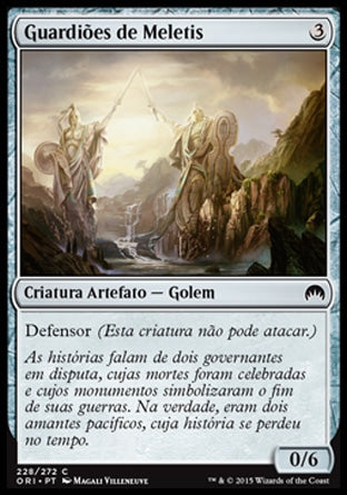 Guardiões de Meletis / Guardians of Meletis-Magic: The Gathering-MoxLand