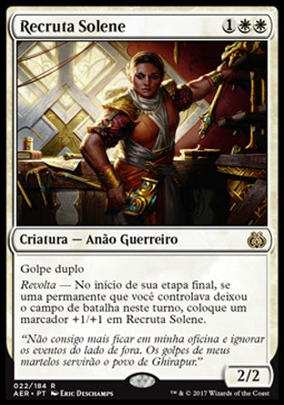 Recruta Solene / Solemn Recruit-Magic: The Gathering-MoxLand