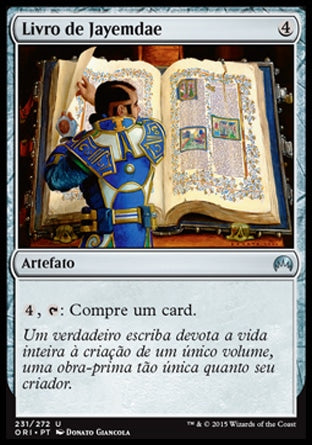 Livro de Jayemdae / Jayemdae Tome-Magic: The Gathering-MoxLand