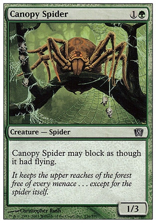 Aranha Baldaquina / Canopy Spider-Magic: The Gathering-MoxLand