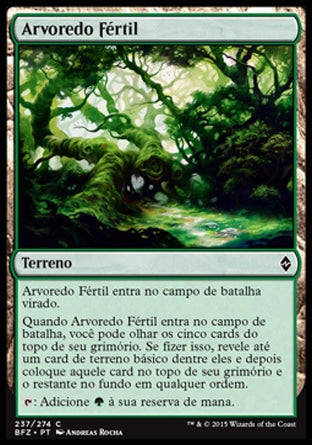 Arvoredo Fértil / Fertile Thicket-Magic: The Gathering-MoxLand