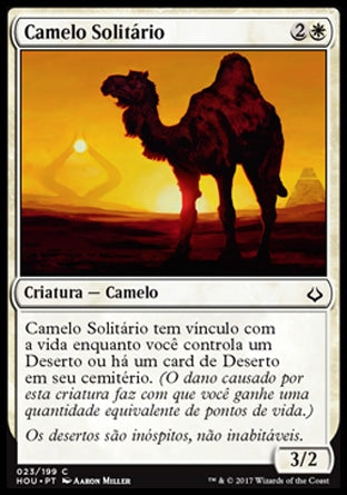 Camelo Solitário / Solitary Camel-Magic: The Gathering-MoxLand