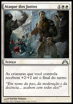 Ataque dos Justos / Righteous Charge-Magic: The Gathering-MoxLand