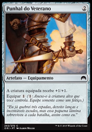 Punhal do Veterano / Veteran's Sidearm-Magic: The Gathering-MoxLand