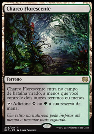 Charco Florescente / Blooming Marsh-Magic: The Gathering-MoxLand
