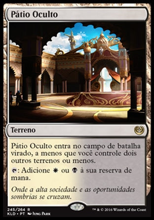 Pátio Oculto / Concealed Courtyard-Magic: The Gathering-MoxLand