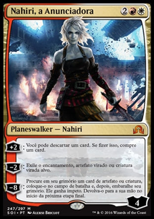 Nahiri, a Anunciadora / Nahiri, the Harbinger-Magic: The Gathering-MoxLand