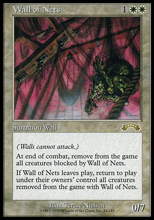 Barreira de Redes / Wall of Nets-Magic: The Gathering-MoxLand