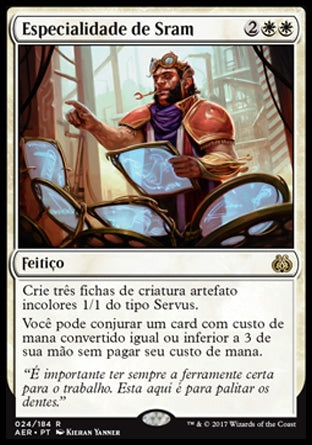 Especialidade de Sram / Sram's Expertise-Magic: The Gathering-MoxLand