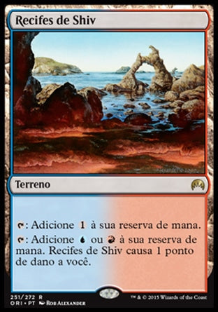 Recifes de Shiv / Shivan Reef-Magic: The Gathering-MoxLand