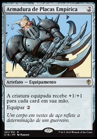 Armadura de Placas Empírica / Empyrial Plate-Magic: The Gathering-MoxLand