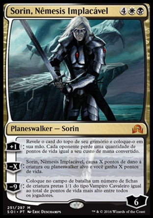 Sorin, Nêmesis Implacável / Sorin, Grim Nemesis-Magic: The Gathering-MoxLand