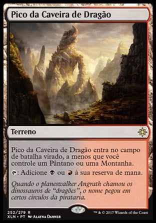 Pico da Caveira de Dragão / Dragonskull Summit-Magic: The Gathering-MoxLand