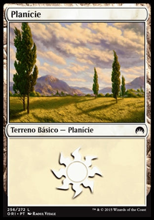 Planície / Plains-Magic: The Gathering-MoxLand