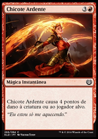 Chicote Ardente / Flame Lash-Magic: The Gathering-MoxLand