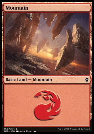 Montanha / Mountain-Magic: The Gathering-MoxLand
