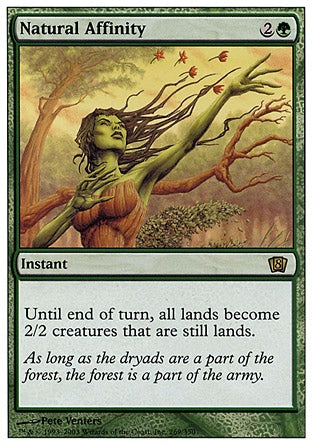 Afinidade Natural / Natural Affinity-Magic: The Gathering-MoxLand