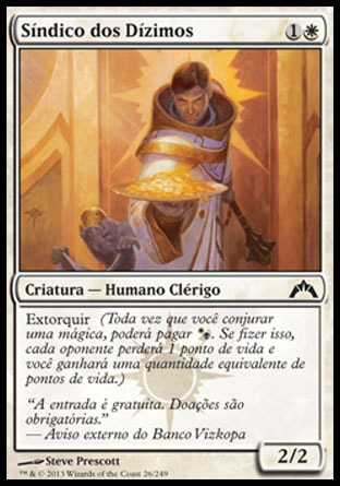Síndico dos Dízimos / Syndic of Tithes-Magic: The Gathering-MoxLand
