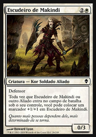 Escudeiro de Makindi / Makindi Shieldmate-Magic: The Gathering-MoxLand