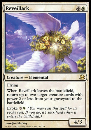 Asas da Alvorada / Reveillark-Magic: The Gathering-MoxLand