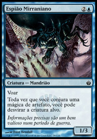 Espião Mirraniano / Mirran Spy-Magic: The Gathering-MoxLand