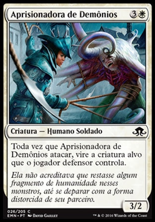 Aprisionadora de Demônios / Fiend Binder-Magic: The Gathering-MoxLand