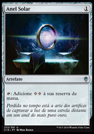 Anel Solar / Sol Ring-Magic: The Gathering-MoxLand