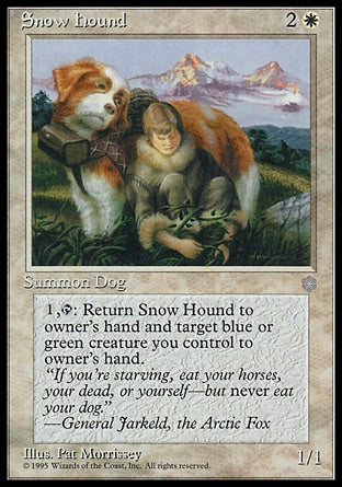 Cão São Bernardo / Snow Hound-Magic: The Gathering-MoxLand