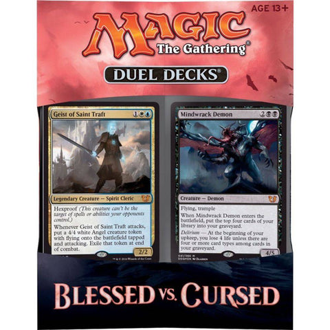 Duel Deck - Blessed vs. Cursed-Magic: The Gathering-MoxLand