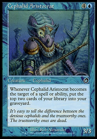 Aristocrata Cefálida / Cephalid Aristocrat-Magic: The Gathering-MoxLand