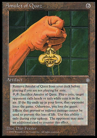 Amuleto de Quoz / Amulet of Quoz-Magic: The Gathering-MoxLand