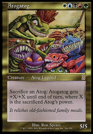 Atogatogue / Atogatog-Magic: The Gathering-MoxLand