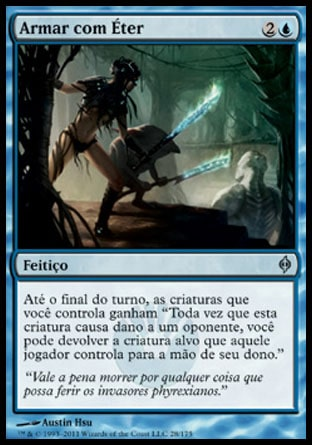 Armar com Éter / Arm with Æther-Magic: The Gathering-MoxLand