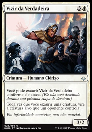 Vizir da Verdadeira / Vizier of the True-Magic: The Gathering-MoxLand
