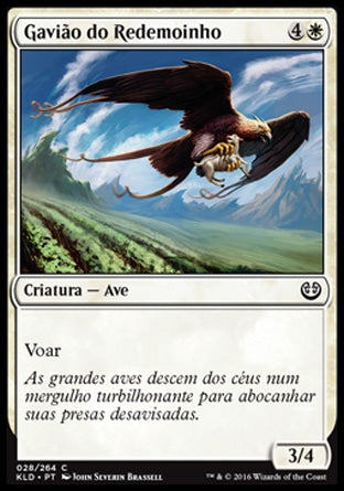 Gavião do Redemoinho / Skyswirl Harrier-Magic: The Gathering-MoxLand
