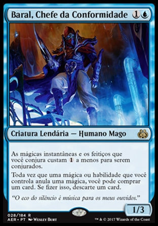 Baral, Chefe da Conformidade / Baral, Chief of Compliance-Magic: The Gathering-MoxLand