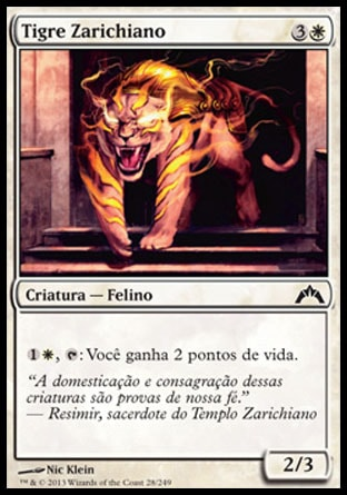 Tigre Zarichiano / Zarichi Tiger-Magic: The Gathering-MoxLand