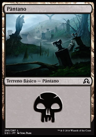 Pântano / Swamp-Magic: The Gathering-MoxLand