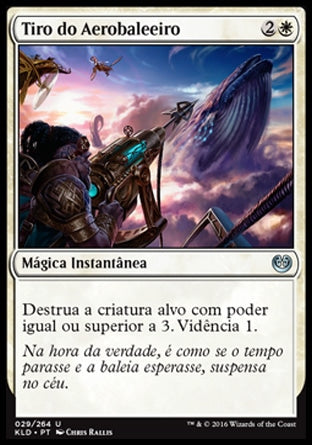 Tiro do Aerobaleeiro / Skywhaler's Shot-Magic: The Gathering-MoxLand