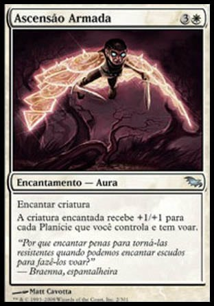 Ascensão Armada / Armored Ascension-Magic: The Gathering-MoxLand