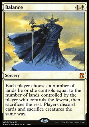 Equilíbrio / Balance-Magic: The Gathering-MoxLand