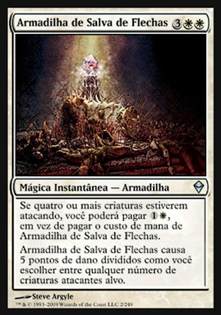Armadilha de Salva de Flechas / Arrow Volley Trap-Magic: The Gathering-MoxLand