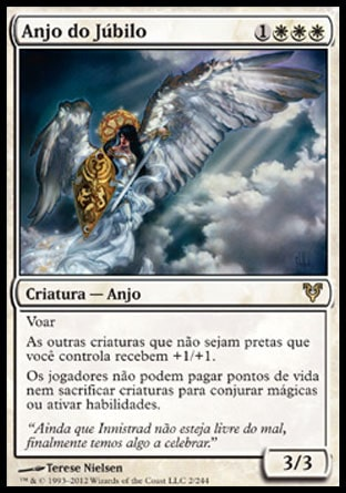 Anjo do Júbilo / Angel of Jubilation-Magic: The Gathering-MoxLand