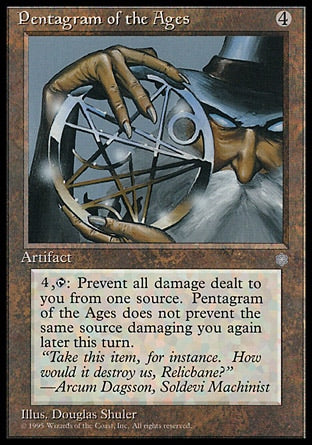 Pentagrama das Eras / Pentagram of the Ages-Magic: The Gathering-MoxLand