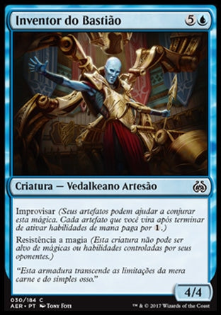 Inventor do Bastião / Bastion Inventor-Magic: The Gathering-MoxLand