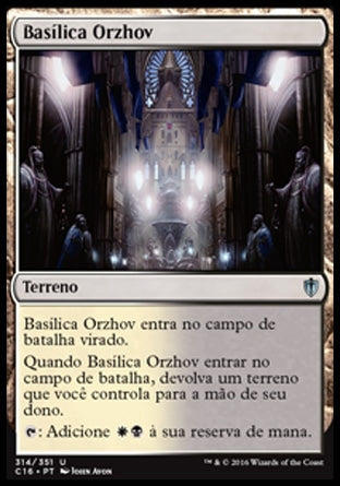 Basílica Orzhov / Orzhov Basilica-Magic: The Gathering-MoxLand