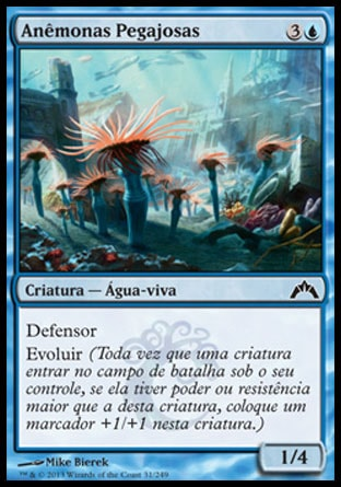 Anêmonas Pegajosas / Clinging Anemones-Magic: The Gathering-MoxLand