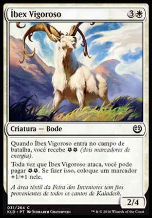 Íbex Vigoroso / Thriving Ibex-Magic: The Gathering-MoxLand