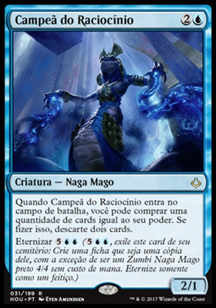 Campeã do Raciocínio / Champion of Wits-Magic: The Gathering-MoxLand