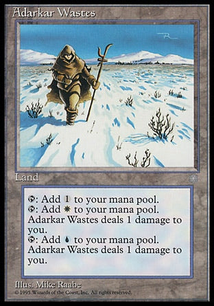 Regiões Agrestes de Adarkar / Adarkar Wastes-Magic: The Gathering-MoxLand